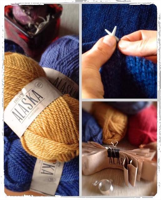 sweter wełniany z wrabianym wzorem