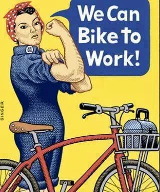 ...Bike to work...