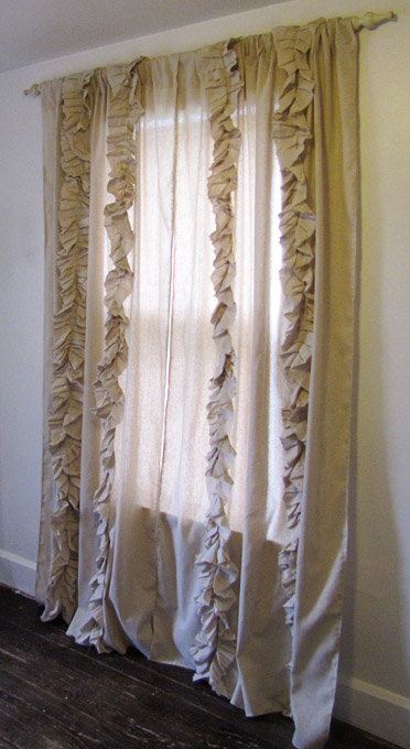 Ruffled Drapes - So You Think You're Crafty
