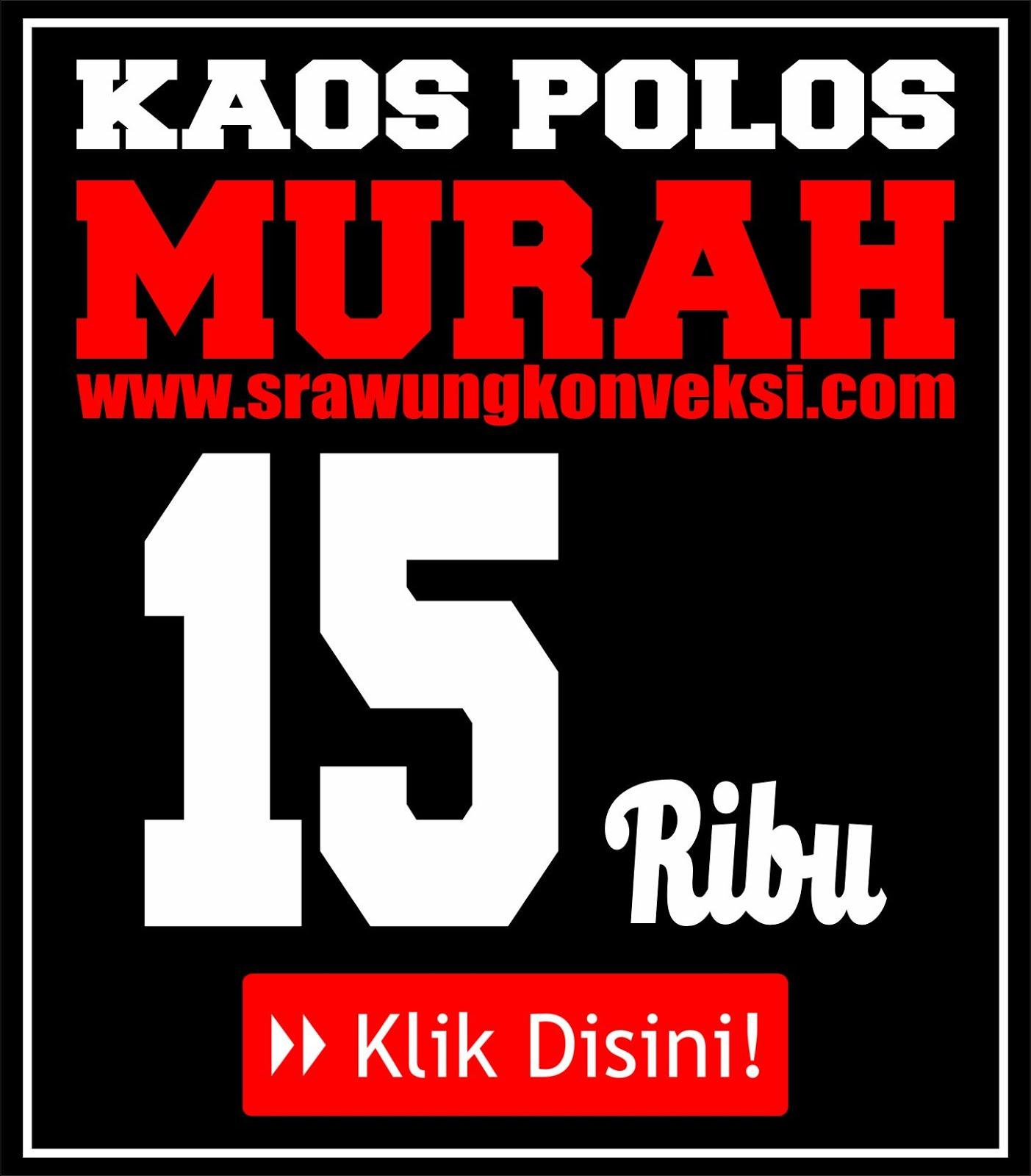 Kaos Polos Murah !!