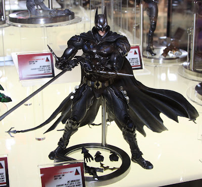 Square Enix Play Arts 2013 Toy Fair Display - DC Universe Batman figure