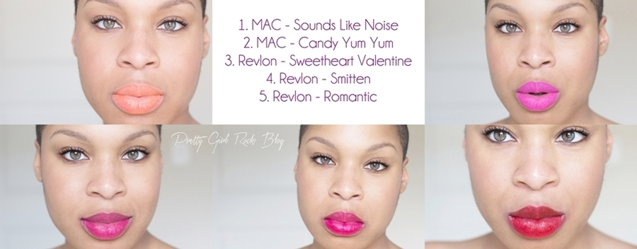 MAC Candy Yum Yum Swatch