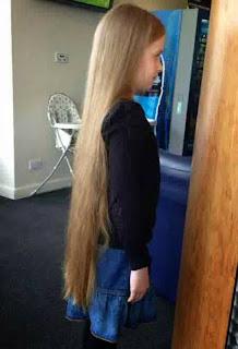 Model rambut panjang lurus trend terbaru