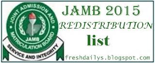 How to Check Jamb Redistribution List, Check Jamb New List