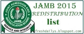 Jamb Urge Candidates to check Redistribution List on on Jamb Website
