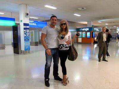 Андреа и Кубрат на почивка в Гърция
