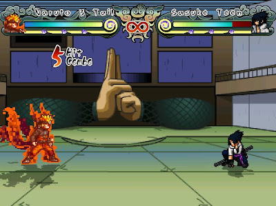 Naruto Mugen The New Era 2012 Screenshot