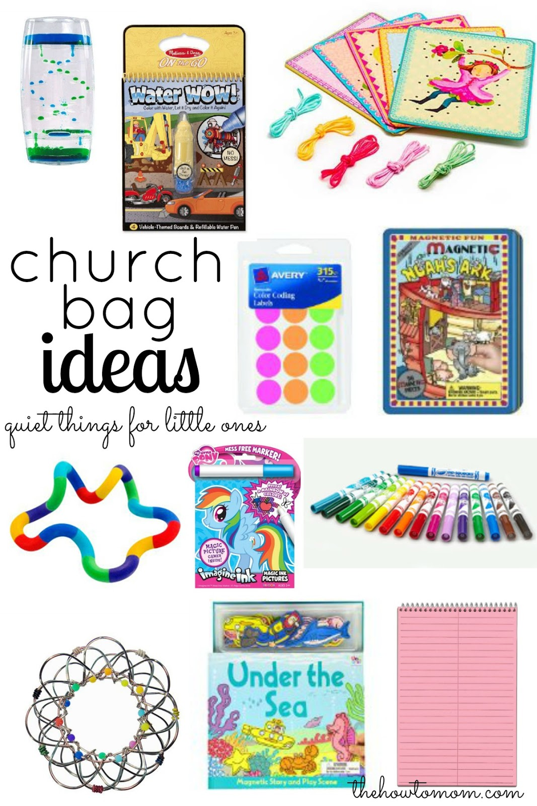 Quiet Things For Kids To Do In Church
