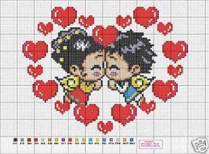 Sara Craftroom79 Schemi Punto Croce San Valentino