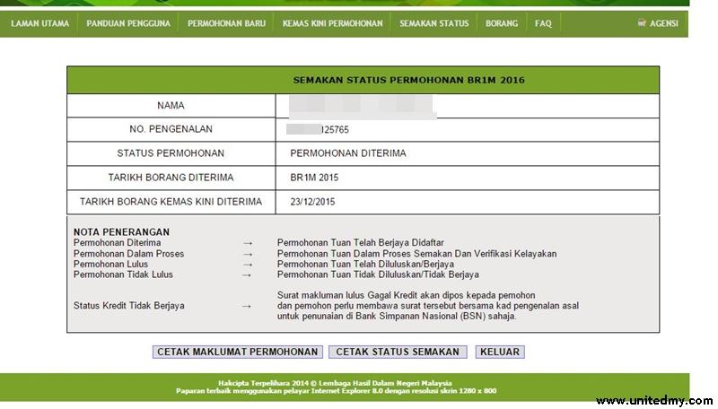 Update Br1m 2016 Status Unitedmy