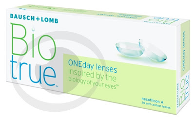 optikku softlens lensa kontak bening clear daily disposable harian bausch lomb bio true