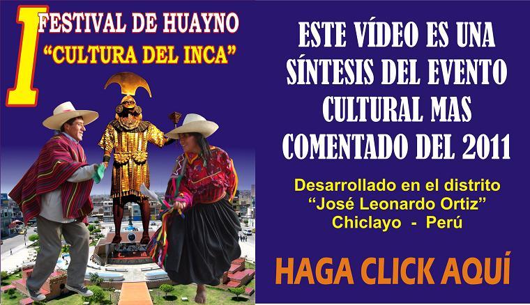 PRESENTAMOS PARA USTEDES EL VÍDEO DEL PRIMER FESTIVAL DE HUAYNO