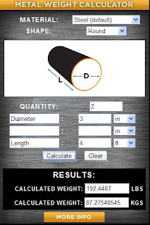 Metal Weight Calculator.apk - 1 MB