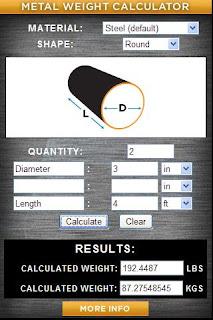 Metal Weight Calculator.apk - 1 MB