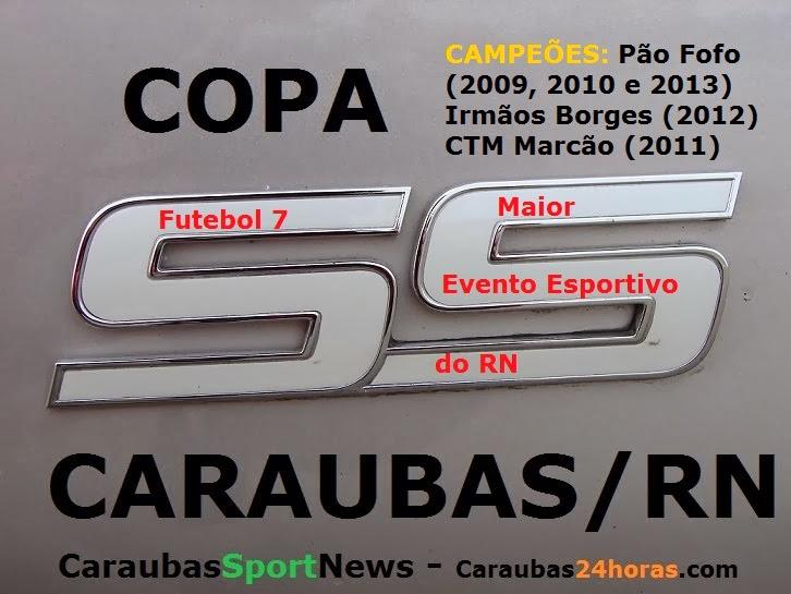 FUTEBOL 7 EM CARAUBAS DE 02 À 18 DE JANEIRO