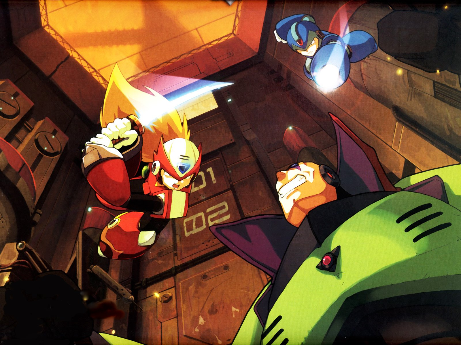 Megaman HD & Widescreen Wallpaper 0.62221316336677