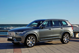 2016 New Volvo XC90 T6 Generation More elegant front view