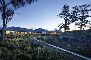 Picturesque Cradle Mountain Chateau, Tasmania
