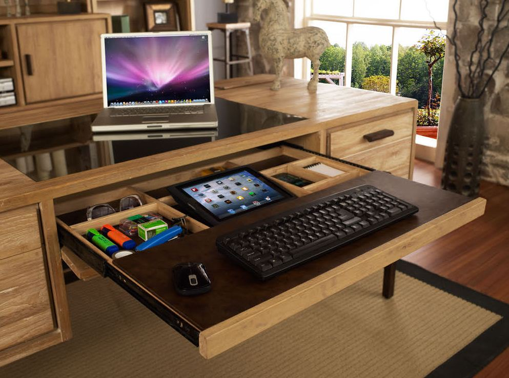 Behind the desk how technology trends influence office for Home office tech