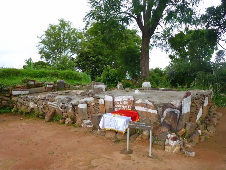 Ny Fasan' ny Mpanjaka Ralambo (1575-1600) ao Ambohidrabiby Hasin' Imerina