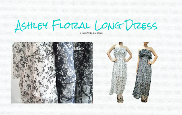 Ashley Floral Long Dress