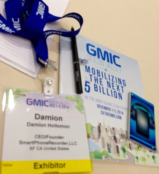 SmartPhoneRecords App at the GMIC G-Start Up