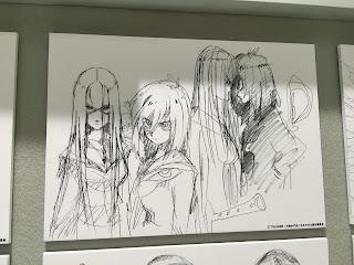 Early Matoi Ryuko and Kiryuin Satsuki Design