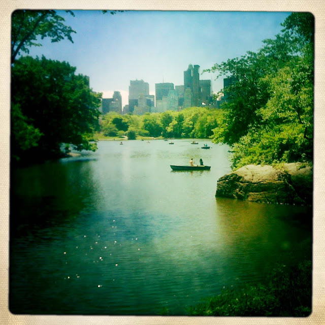 Lost in The Ramble in Central Park