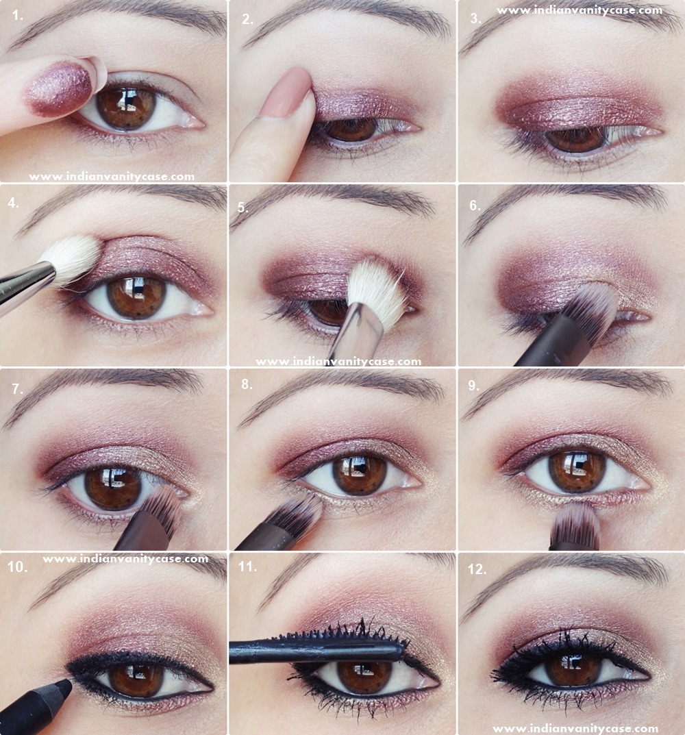Punk rock makeup tutorial images any tutorial examples indian vanity case 2 in 1 eye makeup tutorial metallic eyes v indian vanity case baditri baditri Image collections