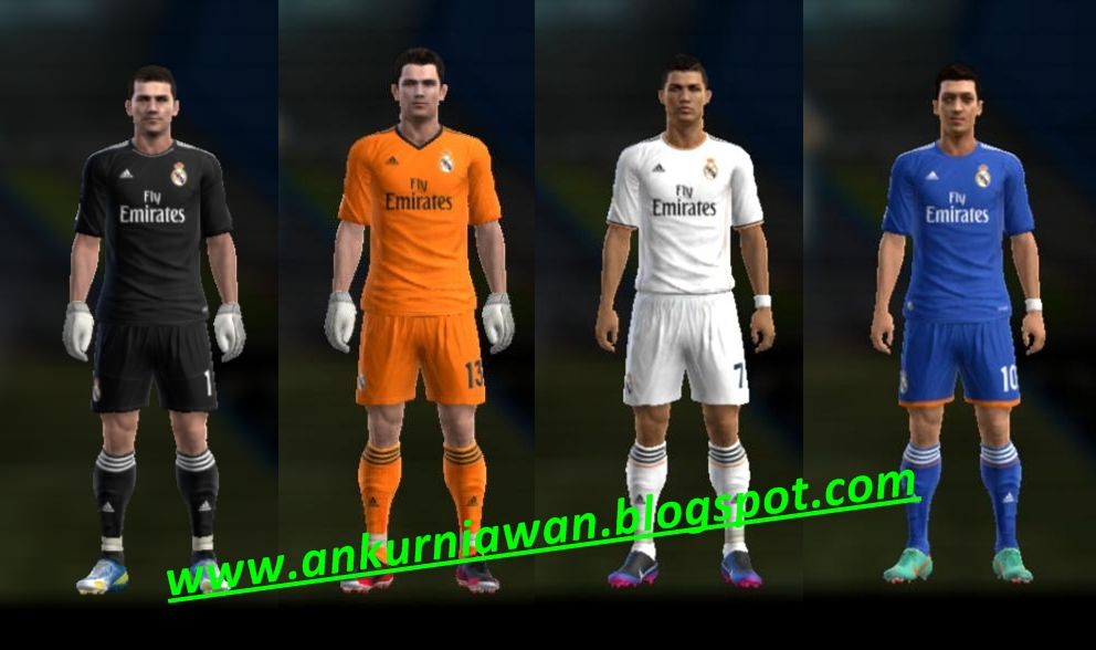 Download New Kits Real Madrid 2013/2014 by Ahmad Nur Kurniawan