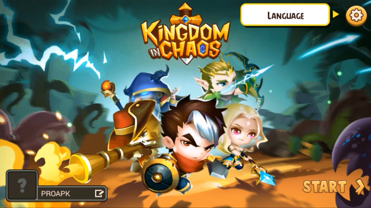 Kingdom in Chaos Gameplay IOS / Android