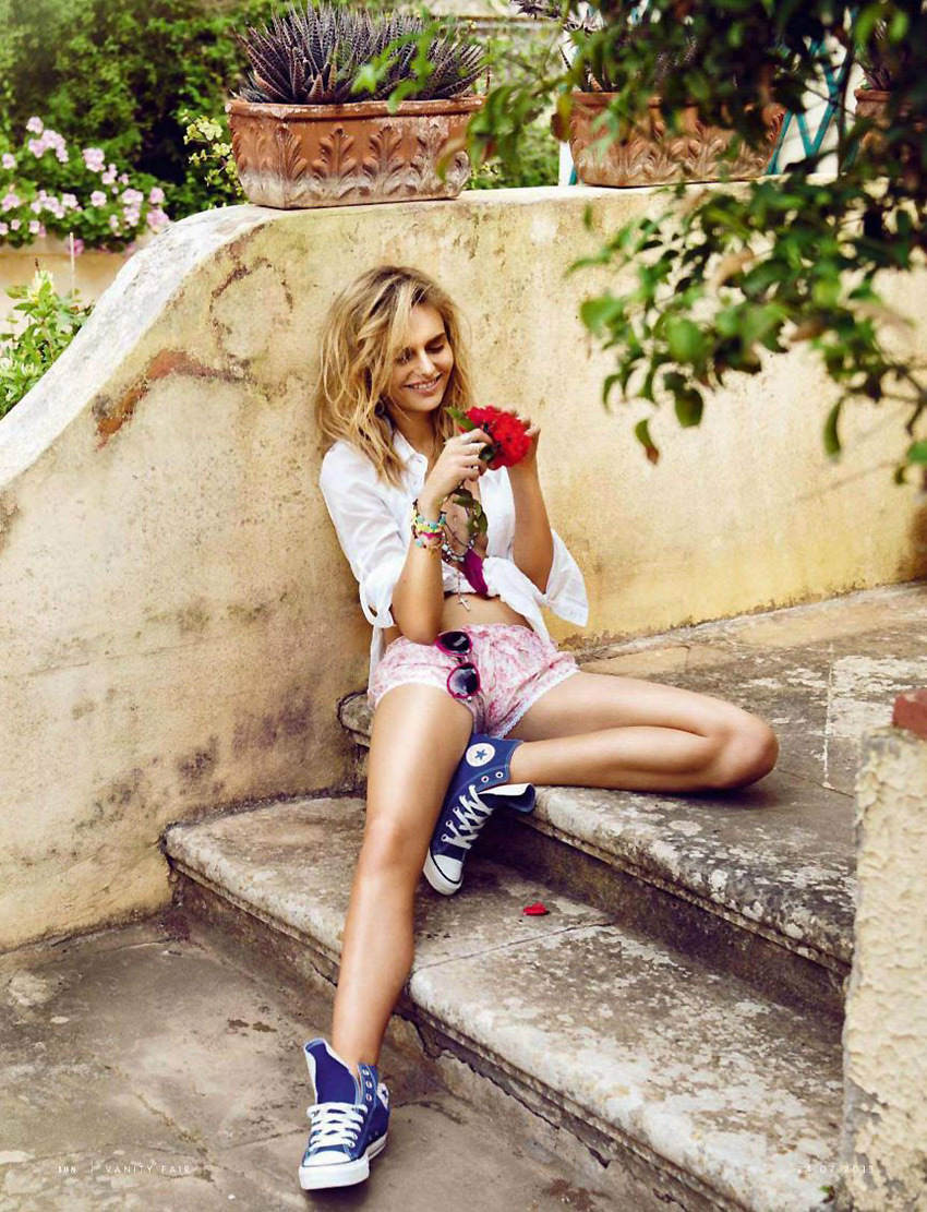 Vanity Fair Italy July 2013 (photography: Signe Vilstrup, styling: Simone Guidarelli, mode: Nathallia Krauchanka)