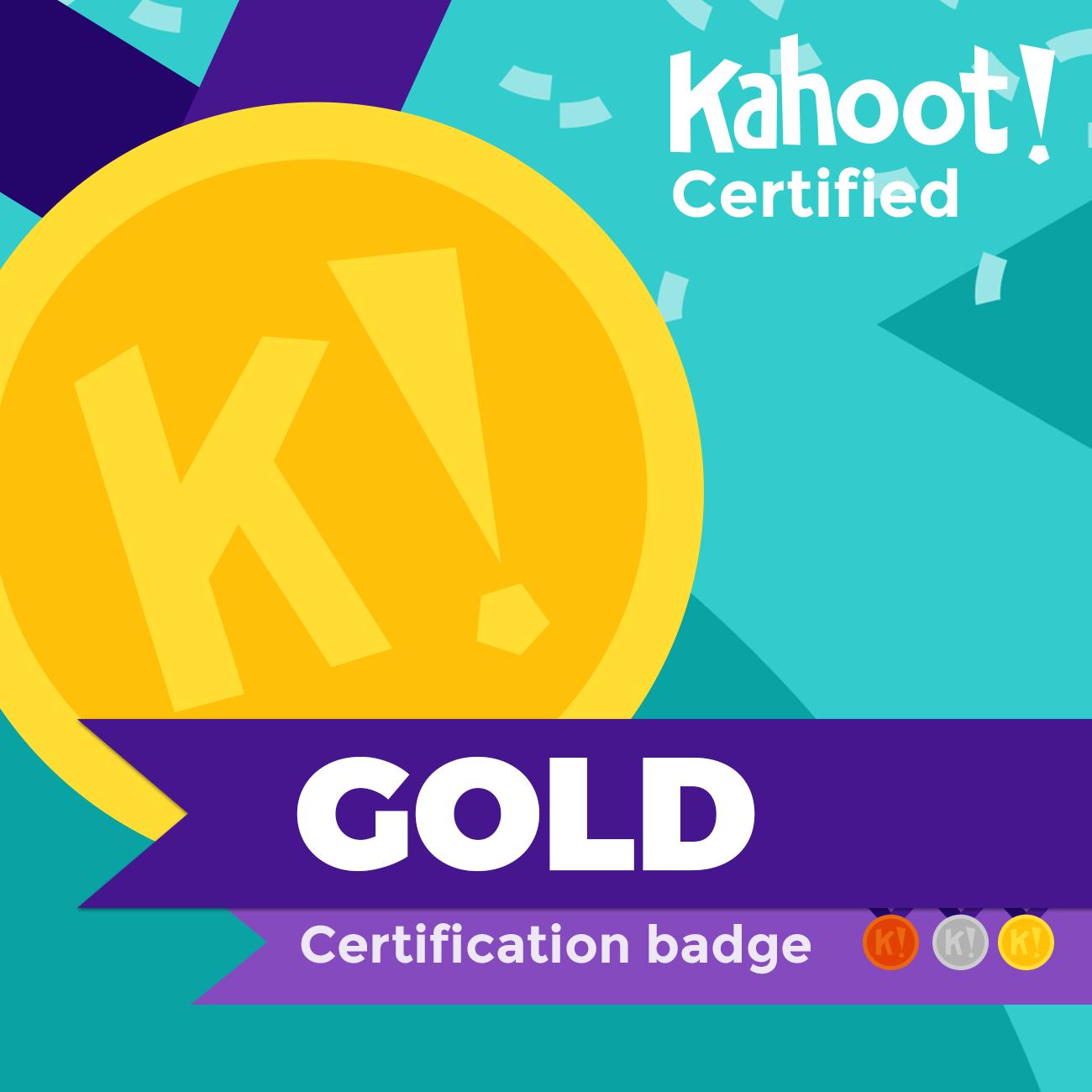 Kahoot! Certified Teacher