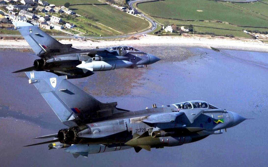 Tornado IDS Jet Fighter Wallpaper 2