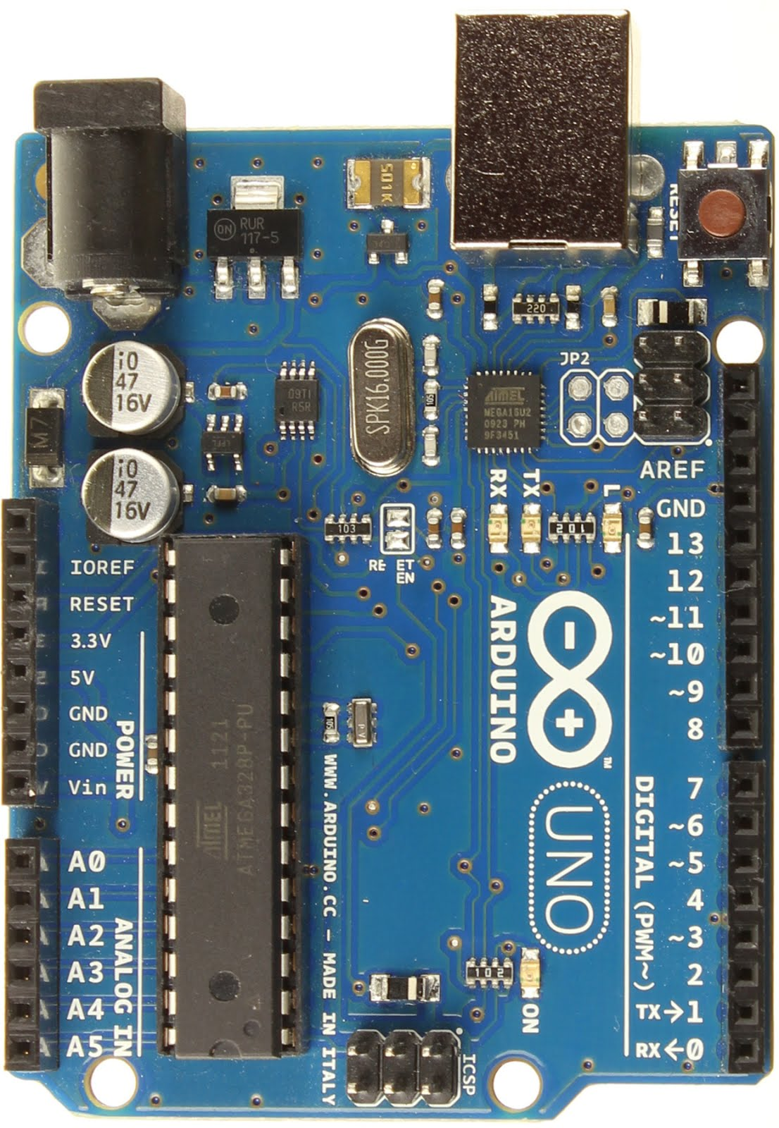 Blind Arduino Blog: Getting to know the Arduino Uno Board