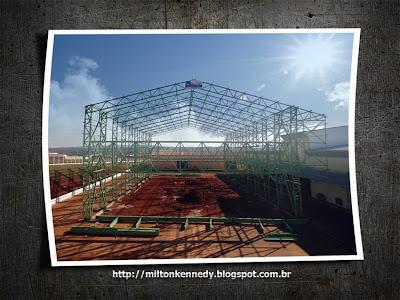 Estrutura metálica Metal Lagos