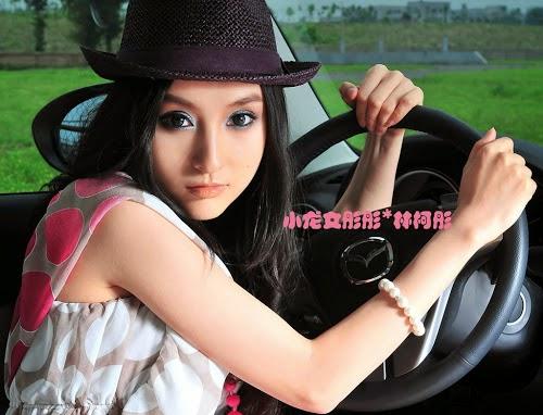 Lin Ketong with car shots