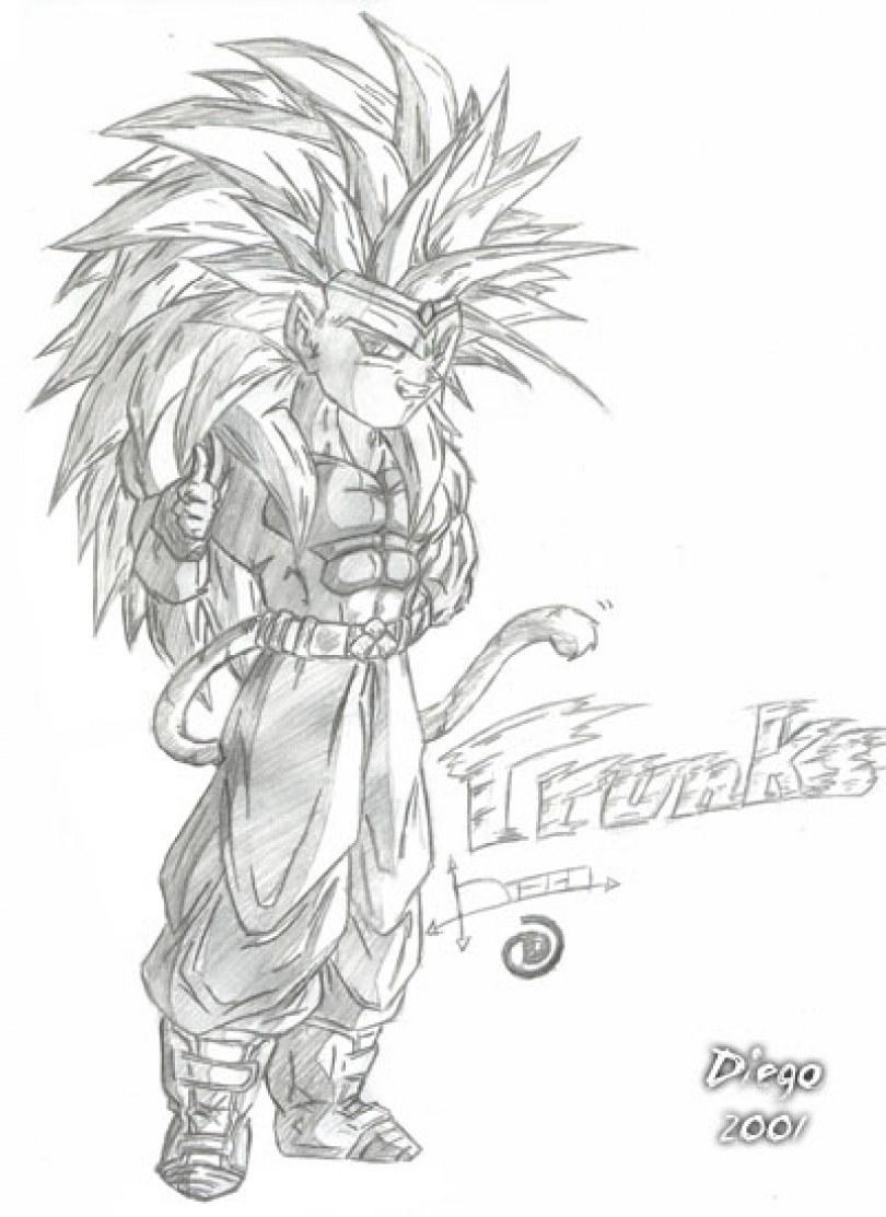 eu amo dragonball desenhos de dbz