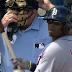 Rajai Davis borrows bench coach Gene Lamont's jersey for at-bat (Video)
