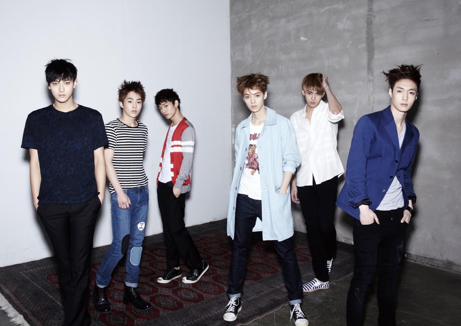 K Pop Exo M Mama Photoshoot