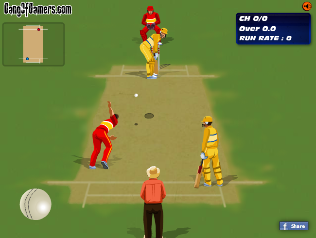 If cricket is your sport, show us your skills! Use the arrow keys to move and WASD to hit. Combine controls: D+W, D+S, A+S, A+W. Before you start wait for the ball to be thrown. Mind the time!