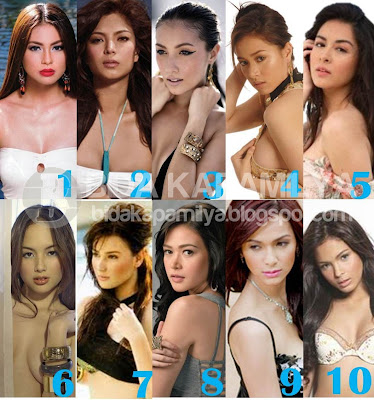FHM 100 Sexiest Women in the World 2012 Complete list