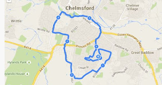 Road running in Chelmsford