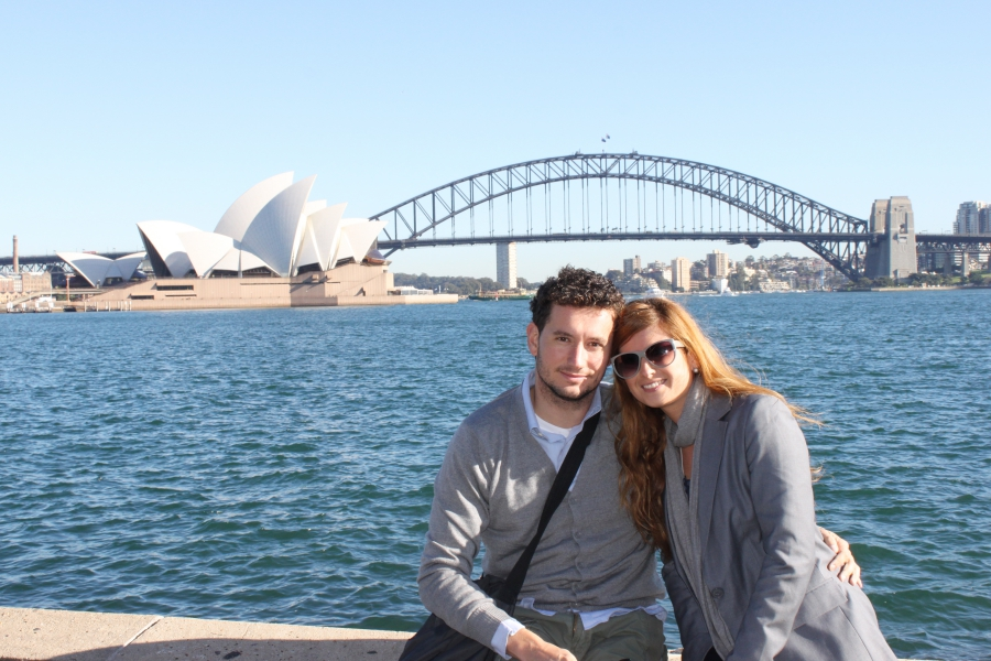 Sydney. Australia. Honeymoon