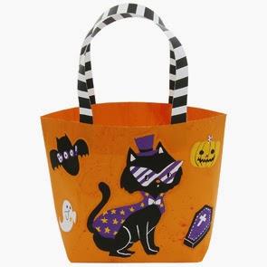 Halloween Bag Papercraft orange