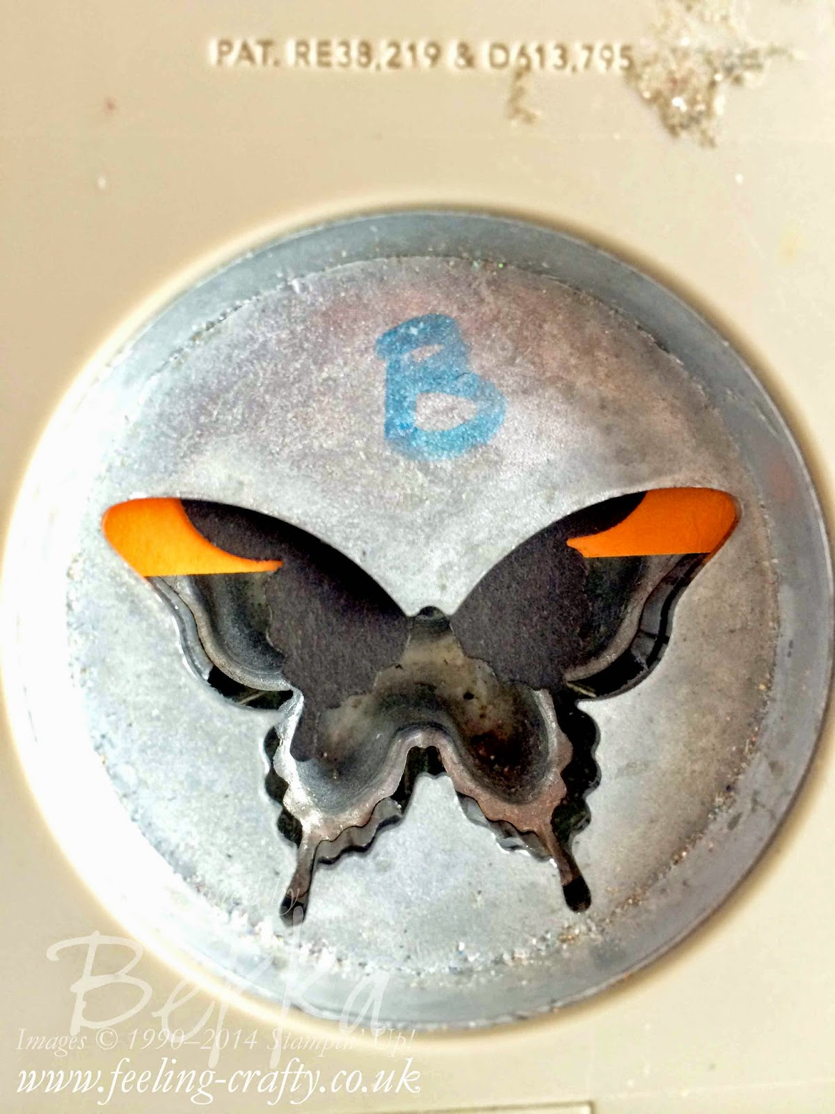 Halloween Treat Box with a Bat made with the Elegant Butterfly Punch - check this post to find out how it was made