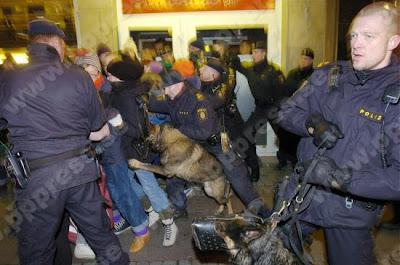 """Литва и Швеция осудили разгон Евромайдана: """"Использование грубой силы неприемлемо"""" - Цензор.НЕТ 9025"""