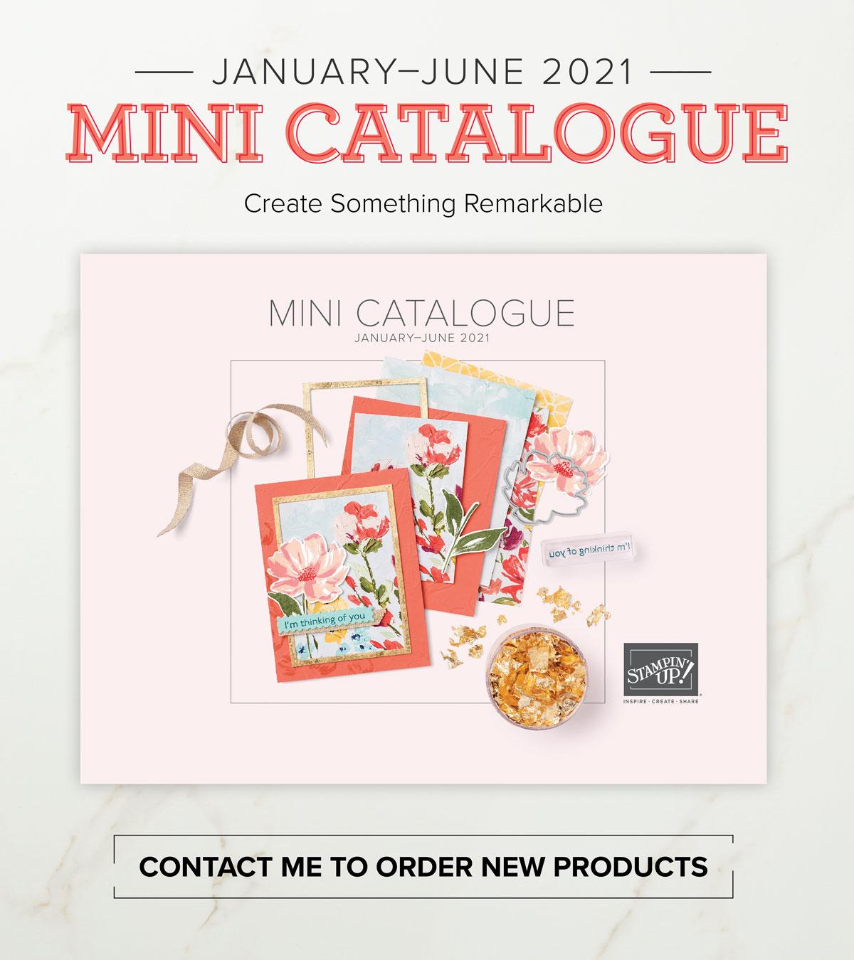 Stampin' Up! January-June 2021 Mini Catalogue