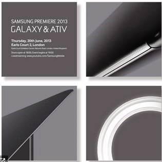Convite da Samsung