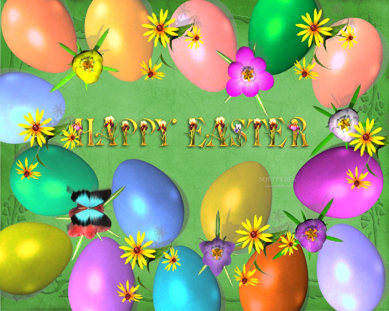 Free Easter Desktop